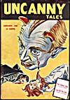 Cover of pulp magazine, UNCANNY TALES, volume 2, number 13 (January 1942)