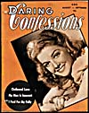 Cover of pulp magazine, DARING CONFESSIONS, volume 2, number 3 (August-September 1943)