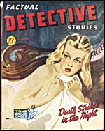 Couverture du fascicule FACTUAL DETECTIVE STORIES, volume 4, numéro 24 (avril 1946)