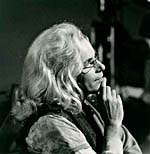 Photograph of Glenn Gould, as Karlheinz Klopweisser, 1980