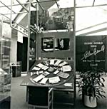 Photograph of the title panel for the GLENN GOULD 1988 exhibition