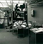 Photograph of a section of the GLENN GOULD 1988 exhibition