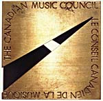 Front of the Canada Council Music Award, 1981