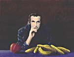 Painting, STILL LIFE WITH GLENN GOULD, by Veronica Xavier