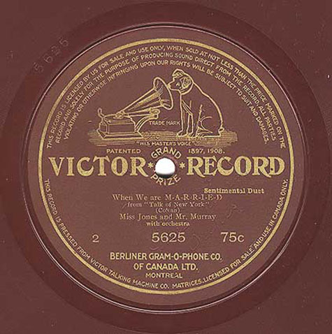 The 78 Rpm 10 Inch Berliner Series Continued