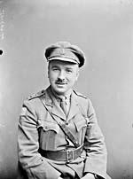 Photograph of Captain Mert Plunkett in uniform