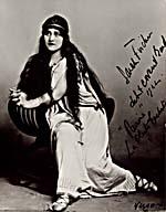 Photograph of Sarah Fischer as Pamina in THE MAGIC FLUTE, 1922