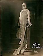 Photograph of Sarah Fischer as Countess Olga in FEDORA, 1925
