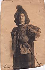 Portrait of George MacFarlane in costume, ca. 1912