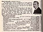 Victor Records catalogue for January 1917 listing several of MacFarlane's hit recordings