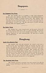 [Page 1] from booklet of newspapers reviews of Éva Gauthier's performance on her tour of China, 1911