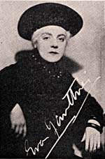 Photograph of Éva Gauthier, which appeared in the June 1941 issue of THE MUSICAL RECORD magazine