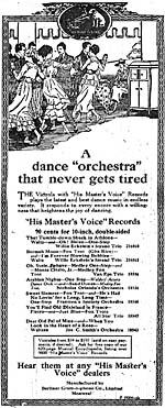 Advertisement for Eckstein's recording of Lt. Gitz Rice's BURMAH MOON