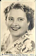 Publicity photo of Mary Bolduc