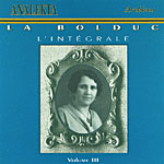 Cover of CD, LA BOLDUC L'INTÉGRALE, VOLUME III