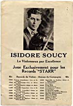 Page from the Starr record catalogue featuring an ad for recordings by Isidore Soucy