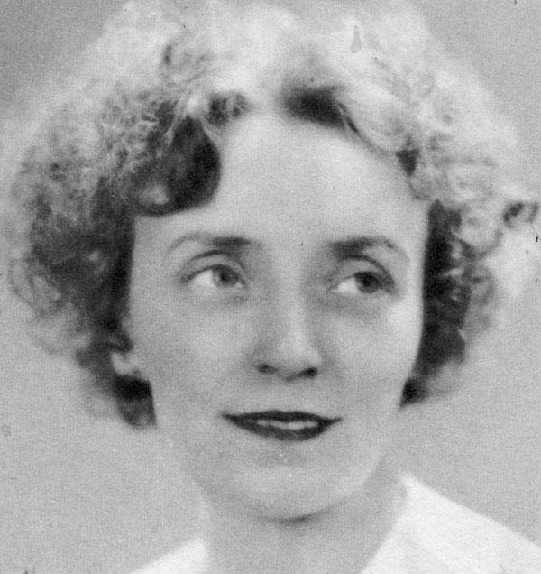 Photo de Juliette Béliveau, dans les années 1930
