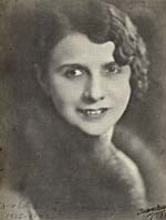 Photograph of Rose Ouellette, circa 1925