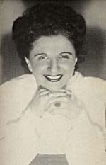 Photograph of Rose Ouellette in her role as theatre director