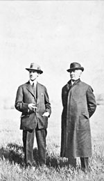 Photograph of Herbert and Emile Berliner, circa 1915