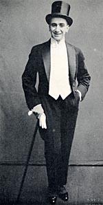 Photograph of Al Plunkett wearing a tuxedo