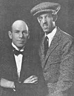 Photograph of Fraser Allan and Stan Bennett taken from _Canadian music trades journal_ March 1923