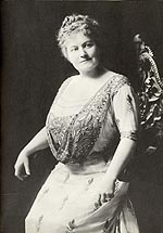 Photograph of May Irwin, circa 1910