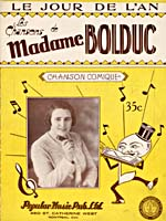 Front cover of sheet music for the song Le Jour de l'An