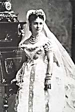 Photograph of Emma Albani in costume for a role