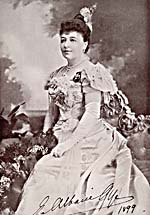 Photograph of Emma Albani, 1899
