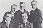 Photograph of the Quatuor Octave-Pelletier, 1918