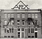 Photograph of The Apex Building, home of the Sun Record Company, 1926