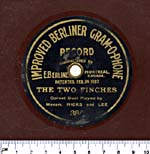 Seven-inch brown disc