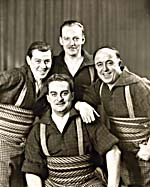 Photo du Quatuor Alouette, vers 1943