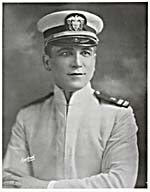 Photograph of Edward Johnson in military uniform, circa 1915