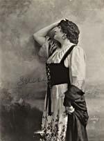 Publicity portrait autographed SINCERELY FLORENCE EASTON