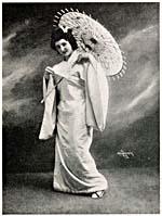 Florence Easton as Cio-Cio-San in MADAMA BUTTERFLY, Metropolitan Opera Company