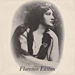 Couverture de la pochette d'un disque illustrant le portrait de Florence Easton