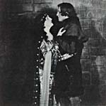 Portrait of Florence Easton and Edward Johnson in THE KING'S HENCHMAN, 1927