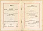 Pages 2-3 of banquet programme in honour of Edward Johnson, presented by the citizens of Guelph, December 5, 1928