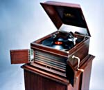 Photograph of the popular Victrola IX available from 1911 to 1926 (CSTM; 1970.0192)