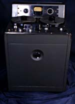 Photograph of Ampex 300, the standard for record mastering, circa 1948-1952 (Peter Lindell/CSTM; 1984.0005)