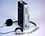 Photograph of the Sony Walkman TPS-L2, 1980s (CSTM; 1982.0114)