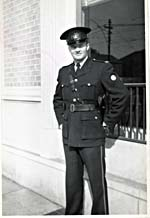 Photograph of Walt Grealis in his RCMP uniform