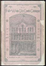 Cover image from Eaton's Fall and Winter 1887-88
