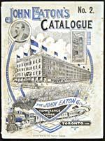 Image de la couverture du catalogue T. Eaton Co. la couverture du catalogue John Eaton Catalogue No. 2, 189?-?