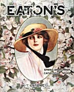 Cover image from Eaton's Spring–Summer Catalogue, no. 118, 1916