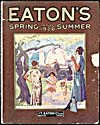 Cover of catalogue, Eaton's Spring and Summer 1926