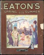 Cover image from Eaton's Spring and Summer Catalogue 1926