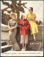 Cover image from Eaton's catalogue, Spring and Summer 1936